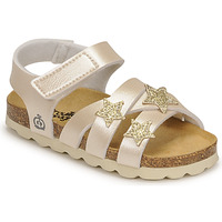 Shoes Girl Sandals Citrouille et Compagnie OKILIA Gold