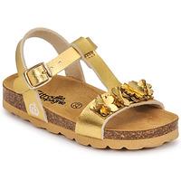 Shoes Girl Sandals Citrouille et Compagnie KAPIBA Gold
