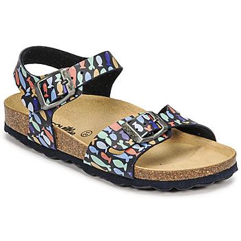 Shoes Boy Sandals Citrouille et Compagnie RELUNE Multicolour
