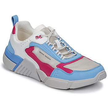 Shoes Women Low top trainers Skechers BLOCK/WEST White / Blue / Pink
