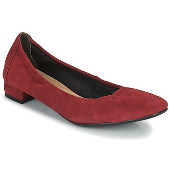 Shoes Women Ballerinas JB Martin OLYMPS Red