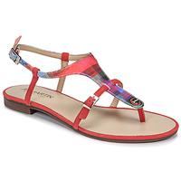 Shoes Women Sandals JB Martin GAELIA E19 Red