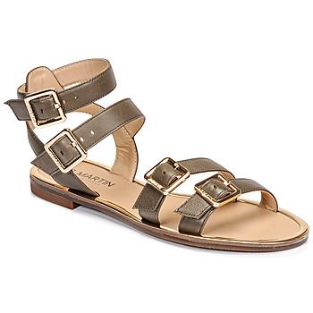 Shoes Women Sandals JB Martin GAPI E20 Olive