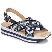 Shoes Women Sandals JB Martin ILANG Marine