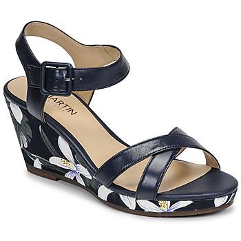 Shoes Women Sandals JB Martin QUERIDA E20 Marine