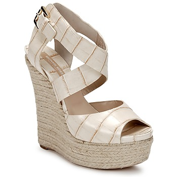 Shoes Women Sandals Michael Kors STAMPA IBRAHIM Cream
