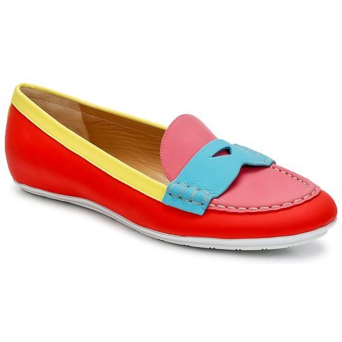 Shoes Women Loafers Marc Jacobs SAHARA SOFT CALF Multicolour
