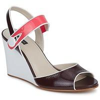 Shoes Women Sandals Marc Jacobs VOGUE GOAT BORDEAUX / Pink
