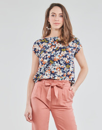 material Women Blouses Betty London OMISS Marine / Pink