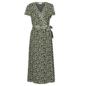 material Women Long Dresses Betty London OMADAM Black / Multicolour