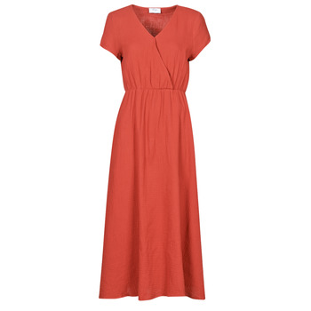 material Women Long Dresses Betty London ODAME Terracotta