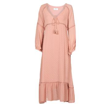 material Women Long Dresses Betty London OFRI Pink