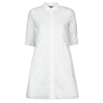 material Women Short Dresses Betty London ODA White