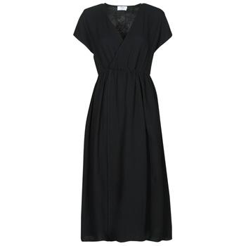 material Women Long Dresses Betty London ODAME Black