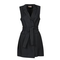 material Women Short Dresses Moony Mood OLALA Black