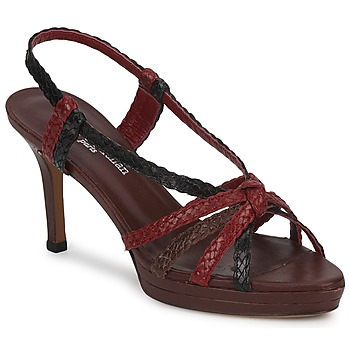 Shoes Women Sandals Stéphane Kelian PRISCILLE Brown / Bordeaux