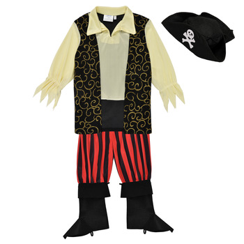 material Boy Fancy Dress Fun Costumes COSTUME ENFANT PIRATE ROCCO Multicolour
