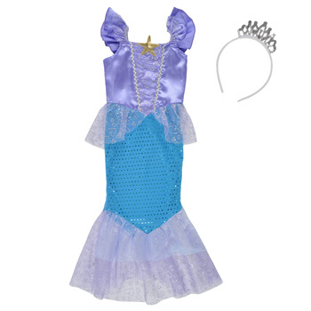 material Girl Fancy Dress Fun Costumes COSTUME ENFANT MERMAID CUTIE Multicolour