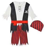 material Boy Fancy Dress Fun Costumes COSTUME ENFANT PIRATE JACK Multicolour