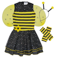 material Girl Fancy Dress Fun Costumes COSTUME ENFANT BEE BEE Multicolour
