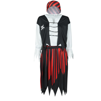 material Women Fancy Dress Fun Costumes COSTUME ADULTE PIRATE SUZY Multicolour