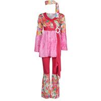 material Women Fancy Dress Fun Costumes COSTUME ADULTE HAPPY DIVA Multicolour