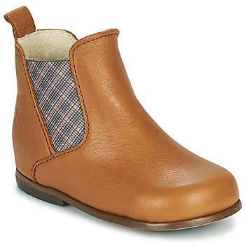 Shoes Girl Mid boots Little Mary ARON Brown