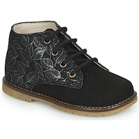 Shoes Girl High top trainers Little Mary JUDITE Black