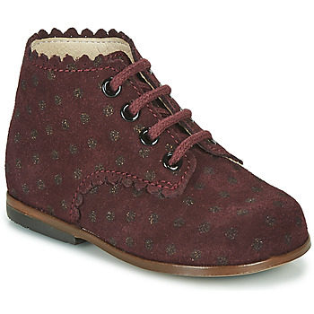 Shoes Girl High top trainers Little Mary VIVALDI Bordeaux