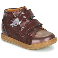 Shoes Girl High top trainers Little Mary CRISTIE Bordeaux