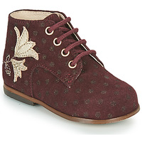 Shoes Girl High top trainers Little Mary MEIGE Bordeaux