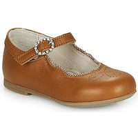 Shoes Girl Ballerinas Little Mary AUBERIE Brown