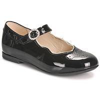 Shoes Girl Ballerinas Little Mary AUBERIE Black
