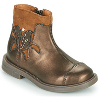 Shoes Girl Mid boots Little Mary ELIANE Gold