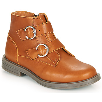 Shoes Girl Mid boots Little Mary EMILIENNE Brown