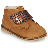 Shoes Girl High top trainers Little Mary JANYCE Brown