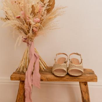 Shoes Women Sandals Céleste CANNELLE Gold