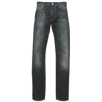 material Men straight jeans Levi's 504 REGULAR STRAIGHT FIT Blue / Dark