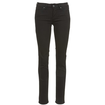 material Women slim jeans Levi's 712 SLIM  black / Sheep