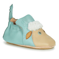 Shoes Children Slippers Easy Peasy BLUBLU MOUTON Blue