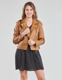 material Women Jackets / Blazers Vila VIMICCAS Cognac