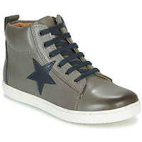 Shoes Boy High top trainers GBB KANY Grey