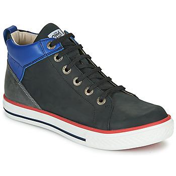 Shoes Boy High top trainers GBB MERINO Black