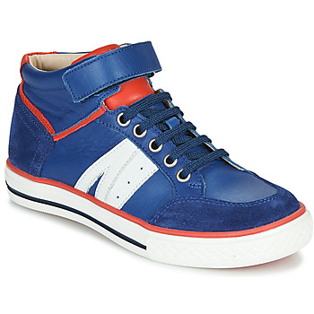 Shoes Boy High top trainers GBB ALIMO Blue