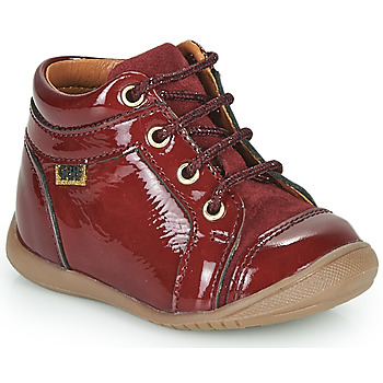 Shoes Girl High top trainers GBB OMANE Bordeaux