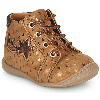 Shoes Girl High top trainers GBB POMME Brown