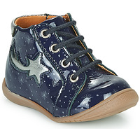 Shoes Girl High top trainers GBB POMME Blue