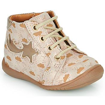 Shoes Girl High top trainers GBB POMME Beige