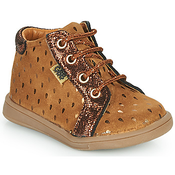 Shoes Girl High top trainers GBB FAMIA Brown
