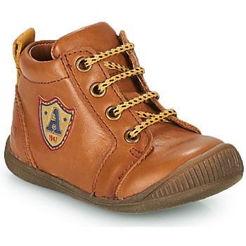 Shoes Boy High top trainers GBB EDWIN Brown